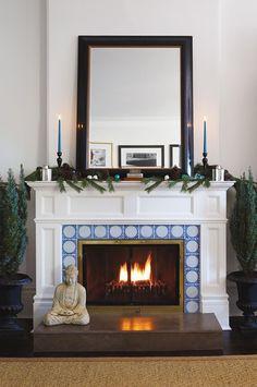 Holiday Mantel // Photo Michael Graydon // House & Home November 2010 issue