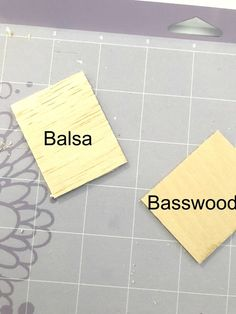 In this tutorial, you will learn how to cut balsa wood and basswood with your Cricut Machine! For the past little while, I have