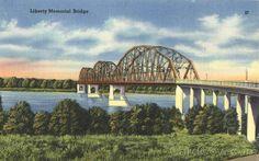 Liberty Memorial Bridge Bismarck North Dakota