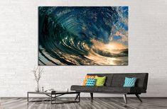 breaking ocean wave №837 Canvas Print