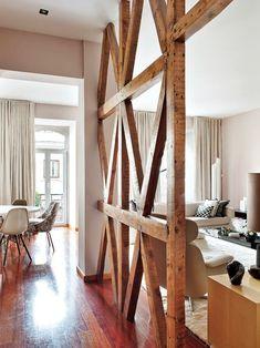 Holz Balken für einen rustikalen Akzent | half timber\fahwerk ...