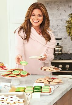 Valerie Bertinelli shares two of her favorite recipes for a holiday cookie swap with 'Us Weekly' — get the details