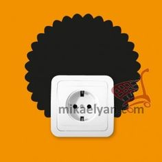Stickers for Plugs & Switch Buttons>Afro hairstyle cut 7 for sale from 3.90 #wall #art #stickers #decal