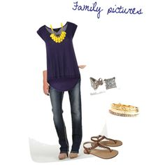 Family picture outfit idea