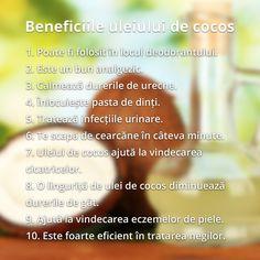 Uleiul de cocos: 20 de intrebuintari neobisnuite Deodorant, Essential Oils, Ale, Health, Natural, Health Care, Ale Beer, Nature, Ales