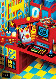 Create quirky 3D imagery in Illustrator - Illustrator Tutorial - Digital Arts