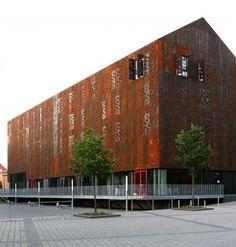 Performers' House by schmidt hammer lassen architects in Silkeborg, Denmark