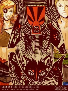 Land of Lions - by Cassandra Jean
