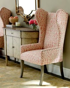 Pink Printed Chairs