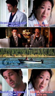 Derek & Cristina's friendship