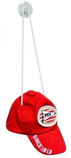 Door deze leuke minicap voor het raam te hangen, laat je aan iedereen zien dat je een echte PSV-fan bent! Je kunt de minicap bevestigen door middel van de zuignap. De cap is rood met de vlag van PSV erop.   Afmeting: volgt later.. - Minicap psv