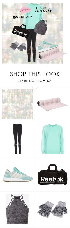 """Burn your fatty ass now"" by pandaleka on Polyvore featuring Tempaper, No Ka'Oi, adidas Originals, adidas, Reebok and Express"