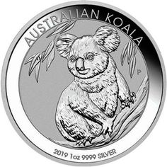 2019-P Australia 1 oz Silver Kookaburra $1 Coin GEM BU in Original Mint Capsule