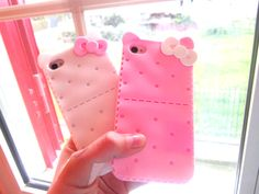 ♚◊ - Hello Kitty by 'Sanrio'♥ - ◊♚ Hello Kitty products. . .cell phone covers. . .iphone case. . .pastel. . .kawaii