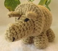 Bert is an adorable baby/toddler sized Triceratops. I would consider this a beginner to advanced beginner Amigurumi pattern. The shapes are simple and easy to put together. Crochet Toys, Free Crochet, Crochet Dinosaur Patterns, Amigurumi Toys, New Toys, Stuffed Toys Patterns, Birthday Decorations, Crochet Projects, Cute Babies