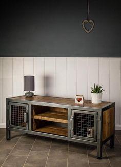 Welded Furniture, Iron Furniture, Steel Furniture, Unique Furniture, Furniture Design, Furniture Vintage, Vintage Wood, Furniture Projects, Wood Projects