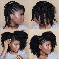 In need of a new hairstyle? Then you are in the right place! We have found 25 beautiful black natural hairstyles. There is an idea for everyone whether you have short hair or longer hair. Natural Hair Updo, Natural Hair Care, Natural Hair Styles, Cornrows, Bantu Knot Hairstyles, Dreadlock Hairstyles, Updo Hairstyle, Protective Hairstyles For Natural Hair, Medium Length Natural Hairstyles