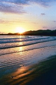 Tambor house rental - Watch beautiful sunsets from our beach