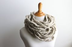 Hey, I found this really awesome Etsy listing at https://www.etsy.com/listing/161916430/chain-scarf-skinny-scarf-oatmeal-scarf