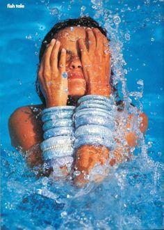 Vogue US June 1990, Fish Tale.