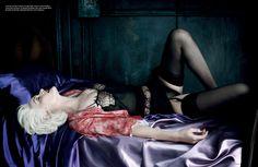 Fashiontography: Amber Valletta by Daniele + Iango