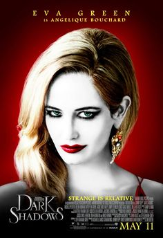 """Eva Green in """"Dark Shadows"""" coming this May 2012.To know more about the movie click the link http://madhole.com/DARK-SHADOWS-REVIEW.php"""
