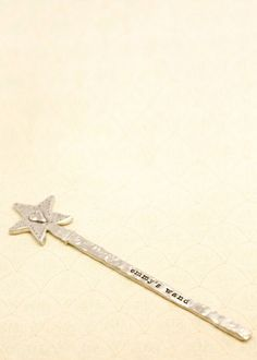 pewter wand