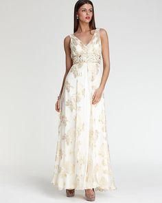 Mother of the Bride Dress Sue Wong, Bridesmaid Dresses, Wedding Dresses, Bride Dresses, Wedding Colors, Wedding Ideas, Mother Of The Bride, Floral Prints, Chiffon