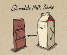 Troll Choclate Milk Shake