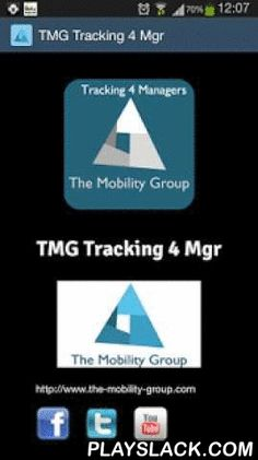 TMG Tracking 4 Mgr  Android App - playslack.com , TMG Tracking 4 Mgr is a mobile App designed to complement Web console offered by TMG Tracking Service. It gives to the managers a valuable tool to track where are his or her technicians in each moment as well as review daily routes.Main uses are:- Tracking field service position.- Truck checking forms in Logistics.- Parking officers positioningNeeds TMG Team Tracking Svc in order to work…