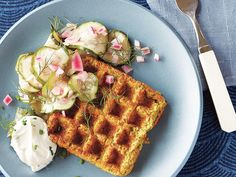 Learn how to make Falafel Waffles . MyRecipes has 70,000+ tested recipes and videos to help you be a better cook
