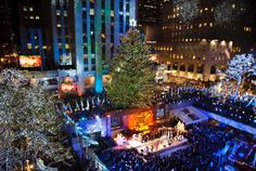 Christmas events in NYC in October and November 2017