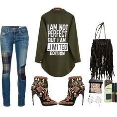 Rag & bone jeans by thestyleartisan on Polyvore featuring moda, rag & bone/JEAN, Emilio Pucci, Yves Saint Laurent, Max Factor, Bobbi Brown Cosmetics and suedeboots