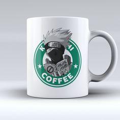 """Limited Edition - """"Kakashi Hatake - Naruto"""" 11oz Mug - Mugdom Coffee Mugs"""