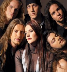 After Forever: The vocal Goddess for this amazing Dutch band is the beautiful Floor Jansen.