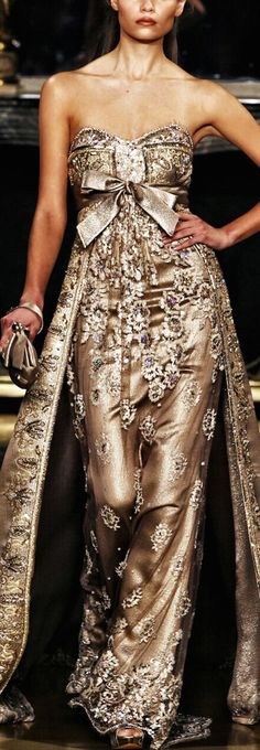 Zuhair Murad. I WANT ONE AND I WANT ONE RIGHT NOW!! sorry, not sorry. :)