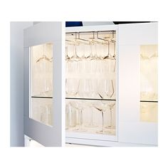 INREDA LED cabinet light IKEA Suitable for use in confined spaces, such as cabinets, bookshelves and closets, as the LED light source emits ...