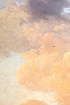 An Italianate Harbour Scene by Claude Joseph Vernet, 1749 (detail) Aesthetic Painting, Aesthetic Art, Aesthetic Backgrounds, Aesthetic Wallpapers, Scenery Wallpaper, Wallpaper Backgrounds, Renaissance Kunst, Sky Painting, Sky Art