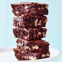 Recipe from Midwest Living for the Zingerman's Magic Brownies. Best brownies ever!