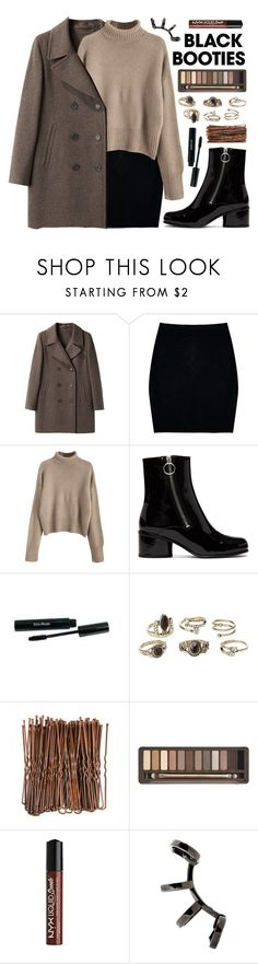 """1504"" by anastaziah2014 ❤ liked on Polyvore featuring Margaret Howell, Boohoo, Marc Jacobs, Charlotte Russe, Urban Decay, NYX, Repossi, WorkWear and blackbooties"