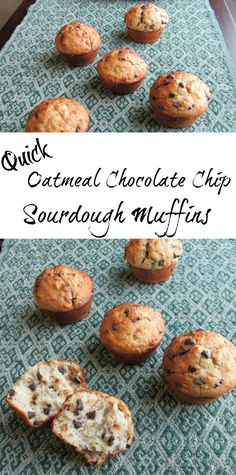 These muffins are a delicious and nutritious way to start your day! They are quick, easy and full of oatmeal and whole wheat goodness yet they are soft and yummy. So good!