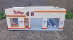 Phillips 66 Two Bay Wooden Garage Diorama 1 24 25 Scale | eBay