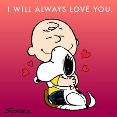 """Charlie Brown & Snoopy """"I will always love you. Charlie Brown Und Snoopy, Meu Amigo Charlie Brown, Charlie Brown Quotes, Snoopy Love, Snoopy And Woodstock, Peanuts Cartoon, Peanuts Snoopy, Snoopy Cartoon, Peanuts Comics"""