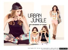 Loving this Urban Jungle collection from Ardene!