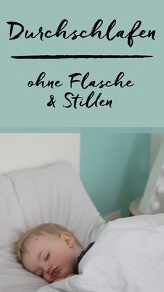 Durchschlafen trotz Flasche und Stillen By sleeping? A tiresome topic for us. Now we have finally made it, that our toddler sleeps by itself – WITHOUT bottle or breastfeeding. Bond-oriented education at eye level Toddler Sleep, Baby Sleep, Baby Co, Baby Baby, Baby Care Tips, After Baby, Baby Kind, Baby Hacks, Baby Feeding