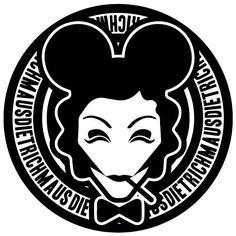 Marlene Dietrich #marlenemaus #madmaus #marlenedietrich #illustration #christopherleesauve www.christopherleesauve.com
