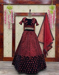 Order #LG315 Viscos VELVET with Sequence Embroidery work Lehenga choli₹1800 on WhatsApp number +919619659727 or ArtistryC.in
