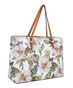 Look what I found on #zulily! Blush & Green Pale Floral Tote #zulilyfinds