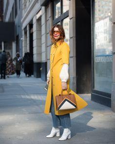 New York Fashion Week Winter 2018 Best Street Style