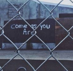 fence, soft grunge, yourself, cage, heart, miley, street art, tumblr, quote, poem, saying, art, love, graffiti, grunge